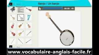 Vocabulaire Anglais Les Instruments De Musique (Vocabulaire Anglais Facile)