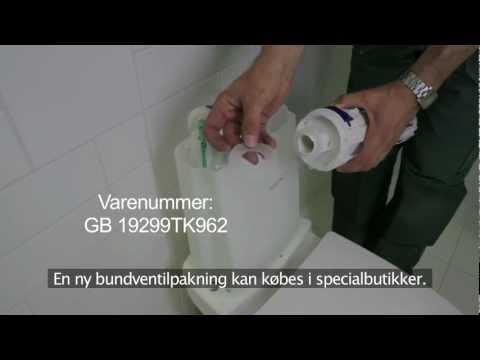 geberit væghængt toilet reservedele