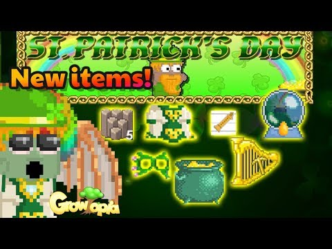 St. Patrick's Day New Items + How to get   Growtopia