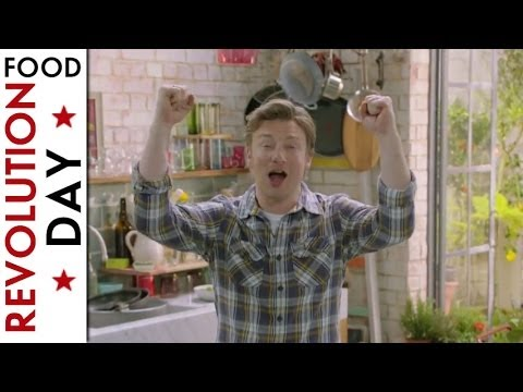 Jamie Oliver\'s Food Revolution Day with Kia and Hannah Robertson!