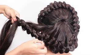 Video very easy hairstyle with trick   easy Hairstyles For Party   hairstyles MP3, 3GP, MP4, WEBM, AVI, FLV September 2019