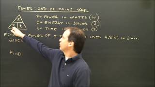 Simple Electricity Calculations Power Part 8