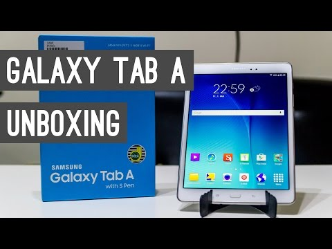 Samsung Galaxy Tab A 9.7 with S Pen Unboxing + Hands On