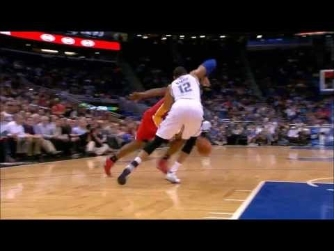 Terrence Jones sick crossover on Tobias Harris