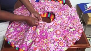 Video How to make a Circle Skirt for girls MP3, 3GP, MP4, WEBM, AVI, FLV September 2018