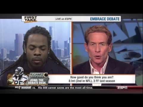ESPN Anchor Taken Down by NFL Player -VIDEO