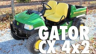 6. The new 2013 John Deere Gator CX