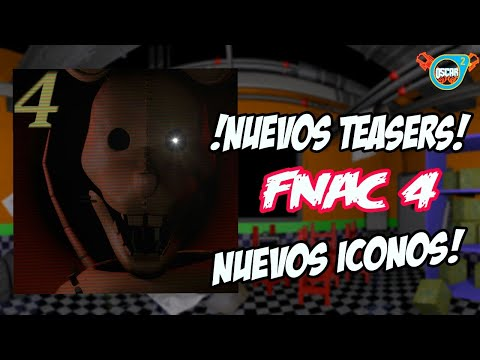 !!Nuevos teasers Iconos de Five Nights at Candy's 4 (Fan game)