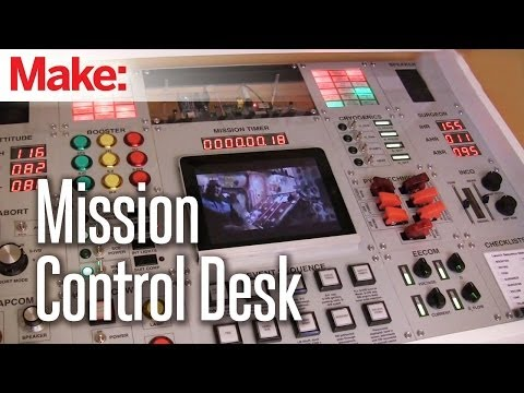 COOL DAD: Build Mission Control Panel in Kid's Desk