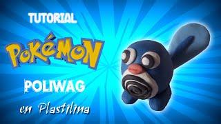 Pokemon/ Tutorial Como Hacer A Poliwag En Plastilina/ How To Make Poliwag With Plasticine
