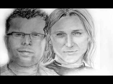 Portrait zeichnen lernen – Zwei Gesichter zusammenführen