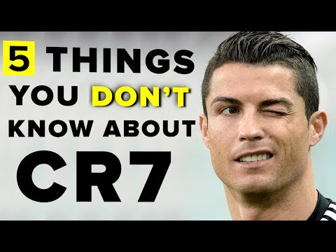 5 things you didn't know about Cristiano Ronaldo