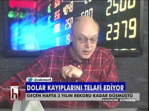 Dr. Cüneyt Akman'la Piyasalar: Dolar kayıplarını telafi ediyor