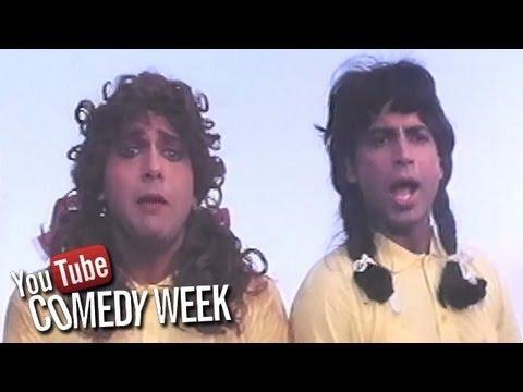 Govinda Best Comedy Scenes -  Bollywood Movie Shola Aur Shabnam - Jukebox - 9 Comedy Week