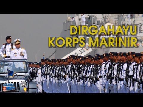 Ulang Tahun, Korps Marinir TNI AL Makin Dekat Dengan Rakyat