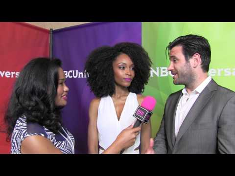 Yaya DaCosta and Colin Donnell @ NBC Universal Press Tour | Black Hollywood Live