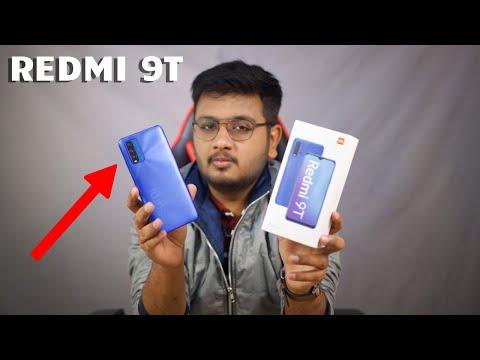 REDMI 9T Unboxing | Snapdragon 662,6000mAh,48MP!!