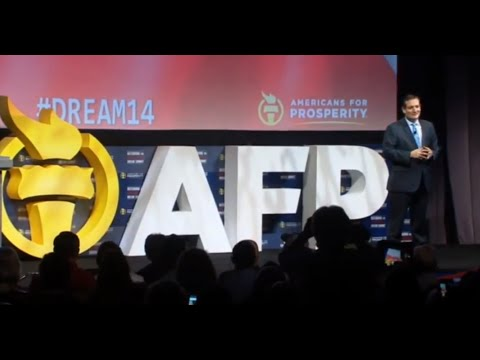 Video: Hear Ted Cruz On Fire at the AFP Summit!