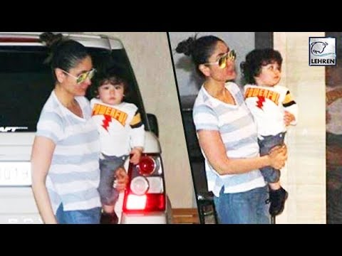 Kareena Kapoor Khan's Great Weekend With Taimur Al