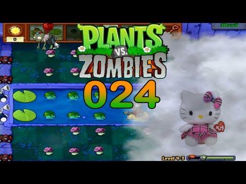 Let's Play Plants vs Zombies #024 Hello-Kitty-Kidy (HD) (Deutsch)