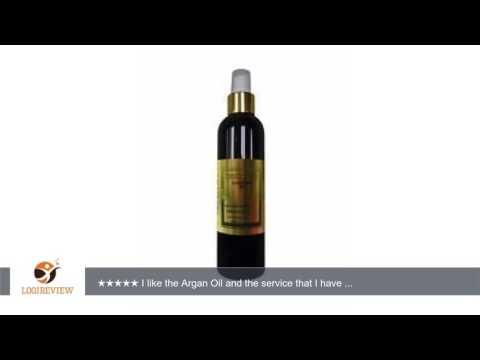 Argan Oil - Organic Cold Pressed 8 oz 100% Pure Natural Extra Virgin Unrefined Grade-a Argan