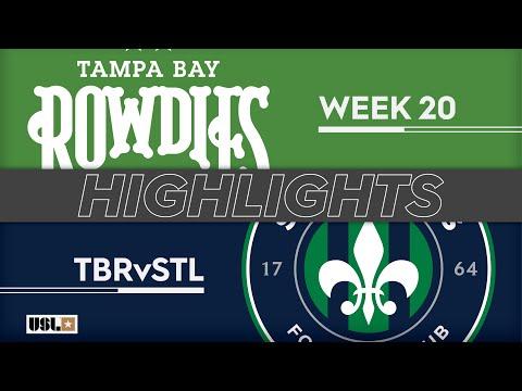Tampa Bay - Saint Louis FC 4:1. Видеообзор матча 21.07.2019. Видео голов и опасных моментов игры