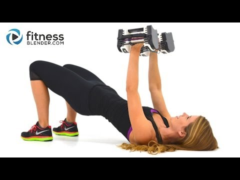 Upper Body Superset Workout with Fat Burning Cardio Intervals – Arm, Chest, Back & Shoulder Workout