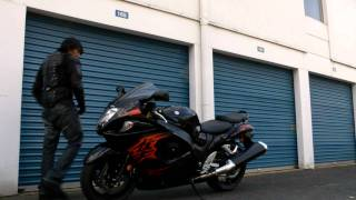 6. 2011 Suzuki Hayabusa GSX1300R Walk Around and Rev