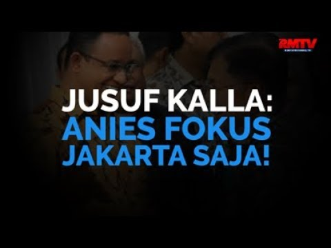 JK: Anies Fokus Jakarta Saja!