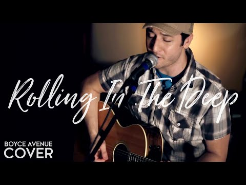 Adele - Rolling In The Deep (Boyce Avenue acoustic cover) on iTunes‬ & Spotify Video