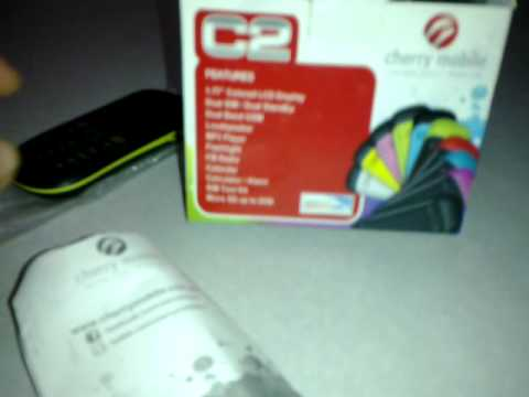 cherry mobile c2 unboxing