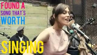 Keira knightley - Coming Up Roses(Lyrics and Scene) Begin Again