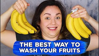 THE BEST WAY TO WASH YOUR FRUITS! by Kat Sketch