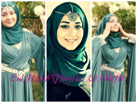 Eid Hijab Tutorial & Outfit