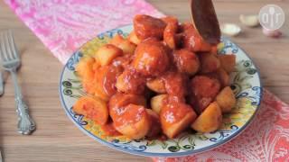 Chtitha batata argelina(Papas con salsa de tomate picante)