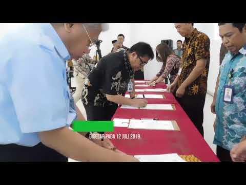Penandatanganan Pakta Integritas Pejabat KBN