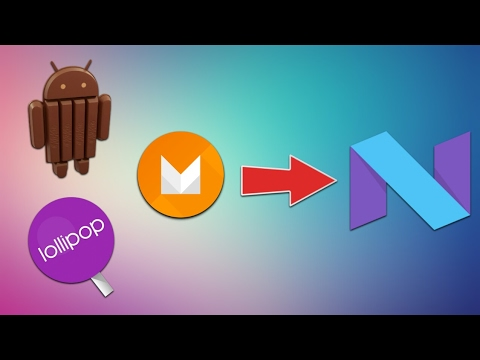 (Install Nougat On Any Android Phone - No ROOT..3 mins, 23 secs.)