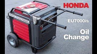 3. Honda Generator Oil Change - Honda EU7000 How To