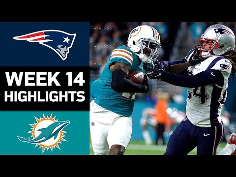 Video: Patriots vs. Dolphins | NFL Week 14 Game Highlights