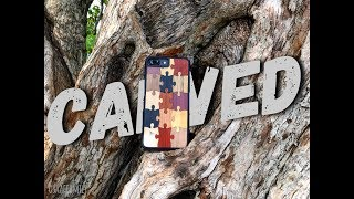CARVED iPHONE CASE REVIEW AND DISCOUNT CODE OFFER - August 14th, 2017 - usaaffamily vlog