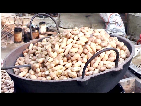 Download How to Making Roasted nuts Street Food Of Bangladesh   Fried Peanuts HD Mp4 3GP Video and MP3
