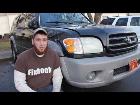"Power Steering Pump Remove & Replace ""How to"" 01-07 Toyota Sequoia OVERVIEW"