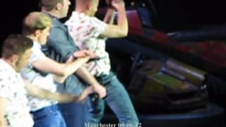Westlife full medley manchester 09-06-12 (Nicky focused)