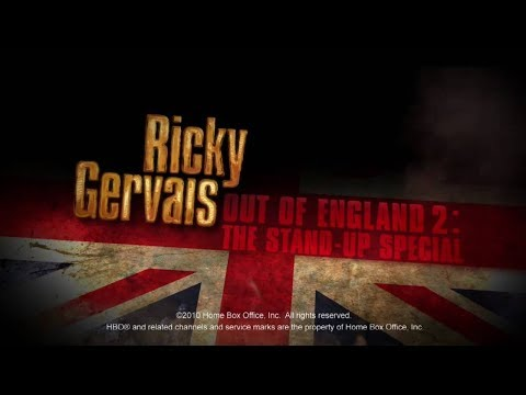 Ricky Gervais- Out Of England