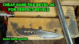 Video How To Make a Knife Bevel Jig For Knife Making. | Beginner Knife Making Series MP3, 3GP, MP4, WEBM, AVI, FLV Maret 2019