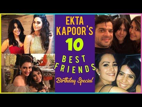 Ekta Kapoor & Her Veeres From TV Industry | Birthd