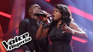 Nonso Bassey vs Shimar sing 'Treasure' / The Voice Nigeria 2016