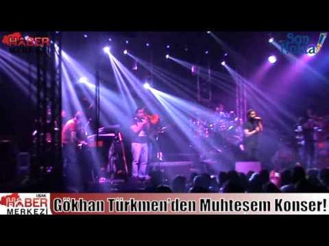 Gökhan Türkmen'den Muhteşem Konser!