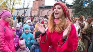 В Новгородском кремле состоялся праздник «Осень величаем! Птиц провожаем!»