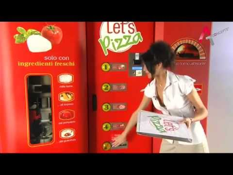 Let's Pizza - Pizza Vending Machine